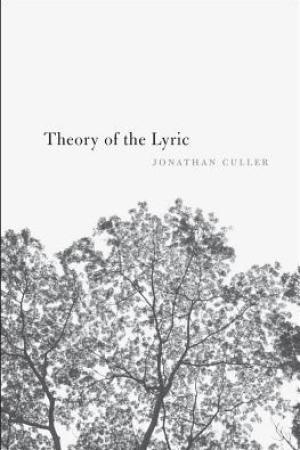Reading books Theory of the Lyric