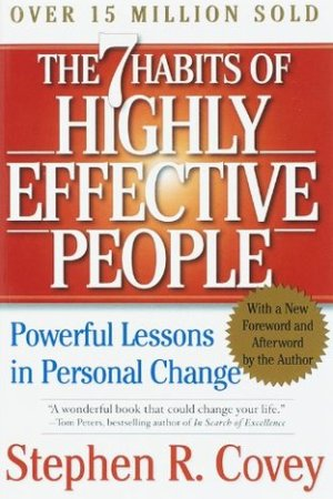 Reading books The 7 Habits of Highly Effective People: Powerful Lessons in Personal Change