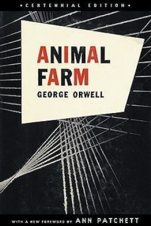 Reading books Animal Farm