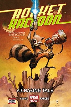 Reading books Rocket Raccoon, Volume 1: A Chasing Tale