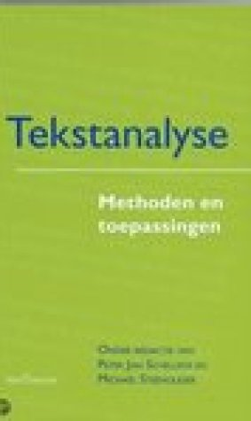 Tekstanalyse, methoden en toepassingen