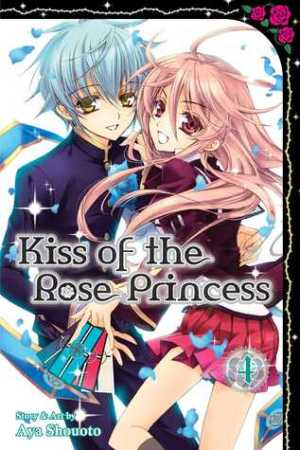 Reading books Kiss of the Rose Princess, Vol. 4