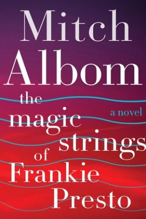 Reading books The Magic Strings of Frankie Presto