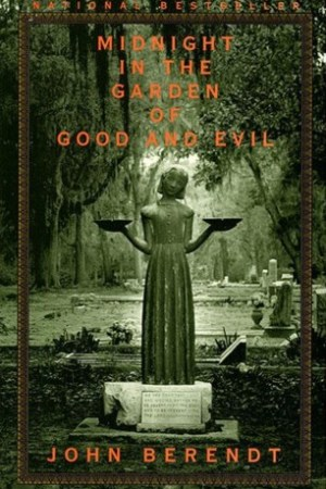 Reading books Midnight in the Garden of Good and Evil