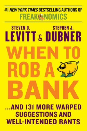 Reading books When to Rob a Bank