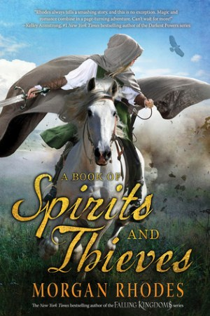 Reading books A Book of Spirits and Thieves (Spirits and Thieves, #1)
