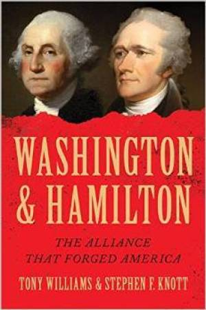 Reading books Washington and Hamilton: The Alliance That Forged America