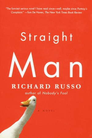 Reading books Straight Man