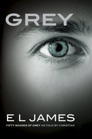 Reading books Grey (Fifty Shades, #4)