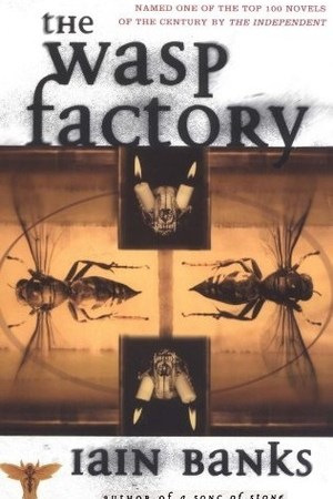 Reading books The Wasp Factory