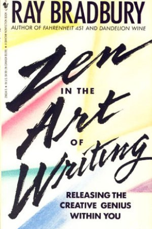 Reading books Zen in the Art of Writing
