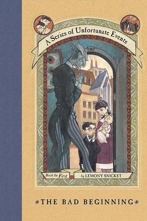 Reading books The Bad Beginning (A Series of Unfortunate Events, #1)