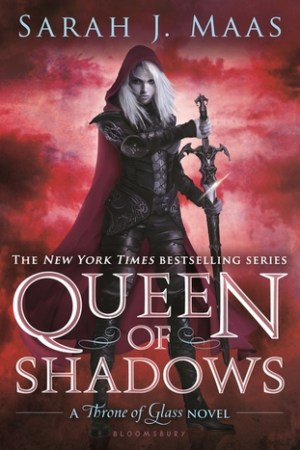 Reading books Queen of Shadows (Throne of Glass, #4)