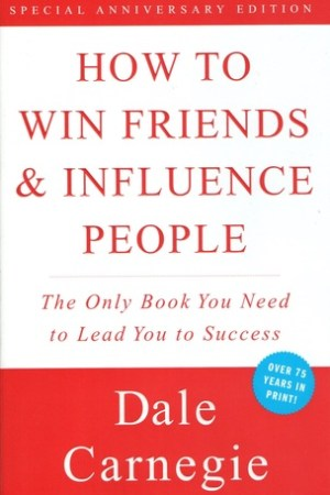 Reading books How to Win Friends and Influence People