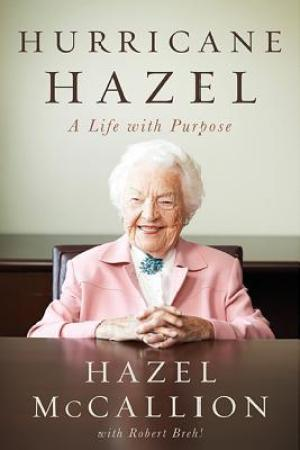 Reading books Hurricane Hazel: A Life With Purpose