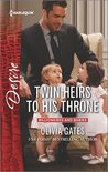 Twin Heirs to His Throne (Billionaires and Babies, #65)