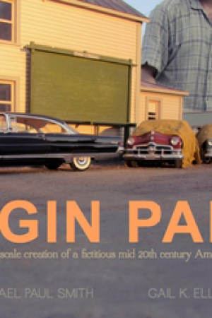 Reading books Elgin Park: Visual Memories of Midcentury America at 1/24th scale
