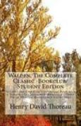 Download Walden, the Complete Classic -Bookclub/Student Edition: Includes the Complete Unabridged Book with a Template for Notes and Reference (Henry David Thoreau Masterpiece Collection) books