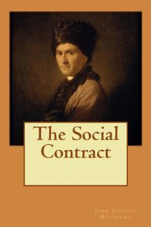 Reading books The Social Contract