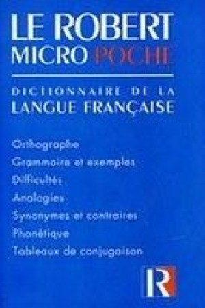Reading books Le Robert Micro Poche: Dictionnaire de La Langue Francaise