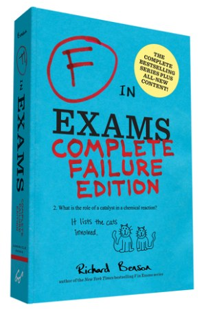 Reading books F in Exams: Complete Failure Edition