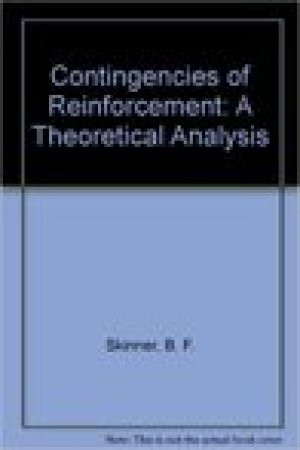 read online Contingencies Of Reinforcement: A Theoretical Analysis