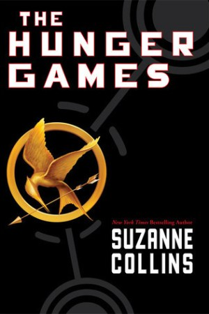 Reading books The Hunger Games (The Hunger Games, #1)