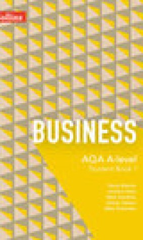 AQA A-Level Business Student Book 1
