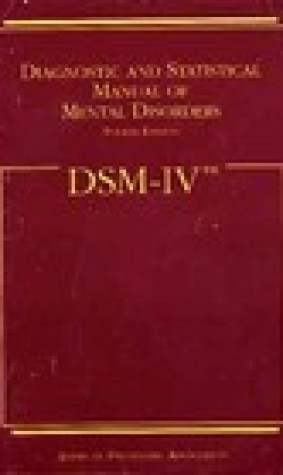 Diagnostic and Statistical Manual of Mental Disorders DSM-IV