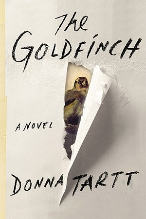 Reading books The Goldfinch