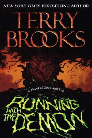 Reading books Running with the Demon (Word & Void, #1)