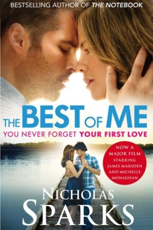 Reading books The Best of Me - You never forget your first Love