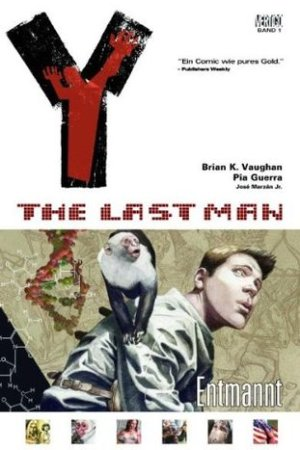 Reading books Y: The Last Man - Entmannt, Band 1