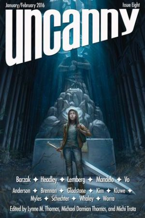 Reading books Uncanny Magazine Issue 8: January/February 2016