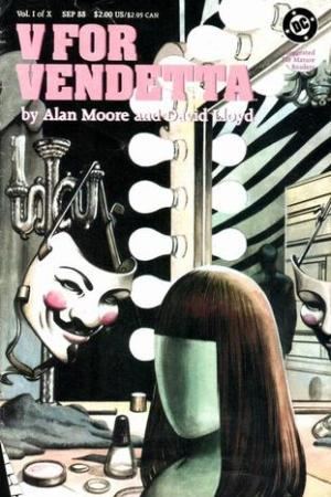 Reading books V for Vendetta, Vol. I of X (V for Vendetta, #1)