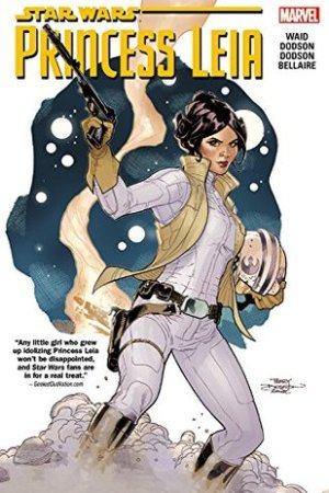 Reading books Princess Leia (Star Wars)