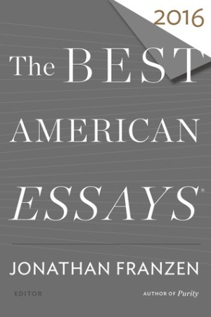 Reading books The Best American Essays 2016