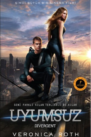 Reading books Uyumsuz Film zel Bask (Divergent, #1)