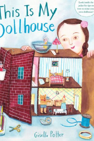 Reading books This Is My Dollhouse