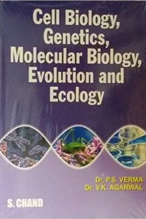 Reading books Cell Biology,Genetics, Molecular Biology: Evolution And Ecology