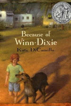 Reading books Because of Winn-Dixie