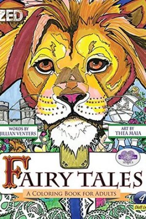 Reading books Fairy Tales: A Coloring Book for Adults