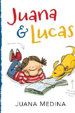 Reading books Juana and Lucas
