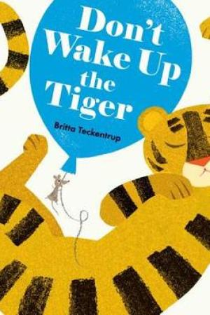 Reading books Don't Wake Up the Tiger