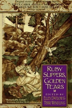 Reading books Ruby Slippers, Golden Tears
