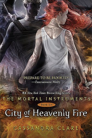 Reading books City of Heavenly Fire (The Mortal Instruments, #6)