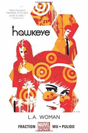 Reading books Hawkeye, Volume 3: L.A. Woman