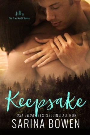 Reading books Keepsake (True North, #3)