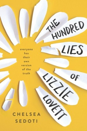 Reading books The Hundred Lies of Lizzie Lovett