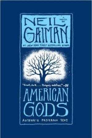Reading books American Gods